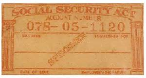 social security number II